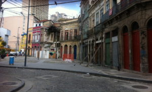 Rio's Porto Maravilha area has suffered for decades from lack of regeneration, © Lucy Bullivant.