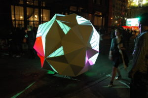 Festival of Ideas, Nuit Blanche, NYC, 2011. Photo: Craig Hayes.