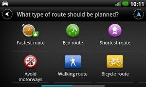 TomTom interface