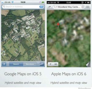 Apple Map fail