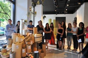 Cybergardening exhibition at Spazio FMG, Milan, July 2012.