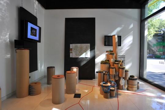 Cyberricotta exhibition at Spazio FMG, Milan, July 2012.