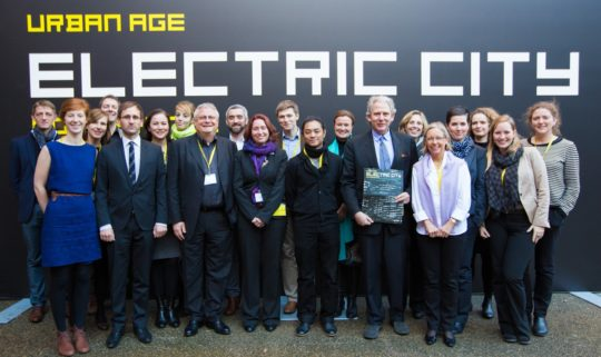 The Electric City team from LSE Cities.