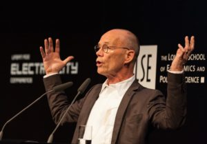 Erik Spiekermann on mapping and designing urban systems in the session Designing place for the digital age.