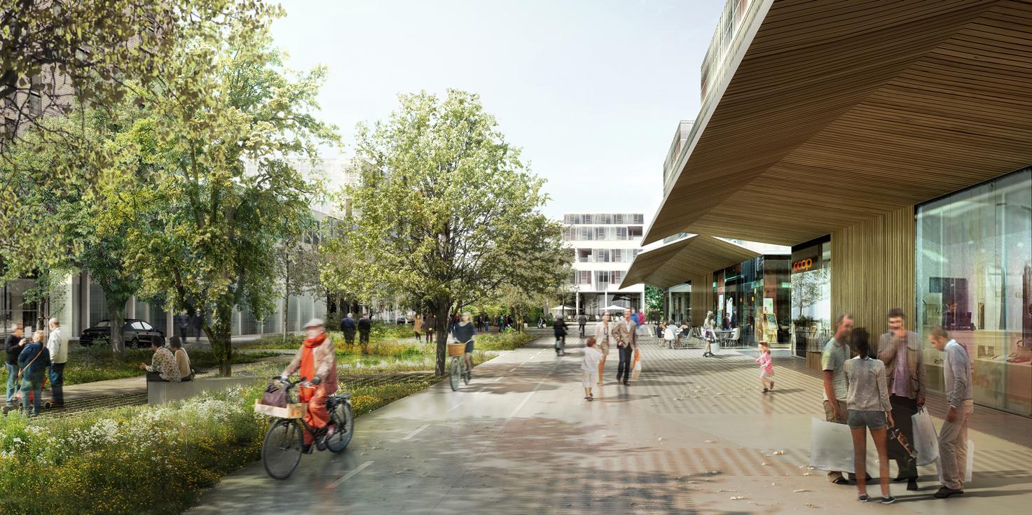 AWP, Orée de Crissier urban scheme, Lausanne, 2013.