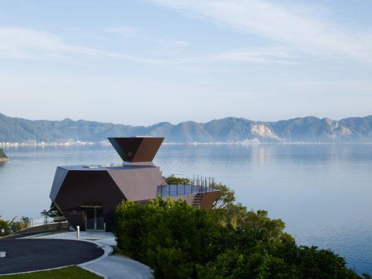 Toyo Ito & Associates Architects, Toyo Ito Museum of Architecture, 2006-2011, Imabari-shi, Ehime, Japan. Photo: Daici Ano.