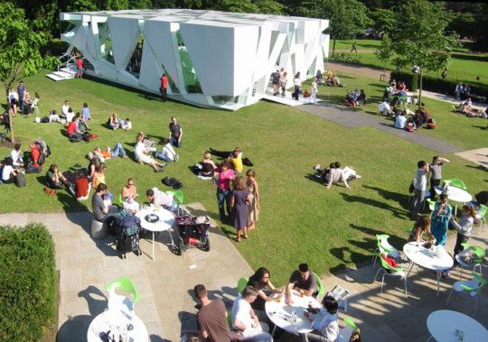 Toyo Ito & Associates Architects, Serpentine Gallery Pavilion, 2002, London, UK.