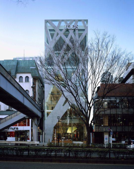 Toyo Ito & Associates Architects, TOD's Omotesando Building, 2002-4, Shibuya-ku, Tokyo, Japan. Photo: Nacasa & Partners Inc.