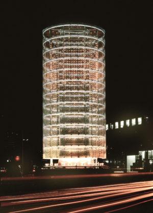 Toyo Ito & Associates Architects, Tower of Winds, 1986, Yokohama-shi, Kanagawa, Japan, Photo: Tomio Ohashi.