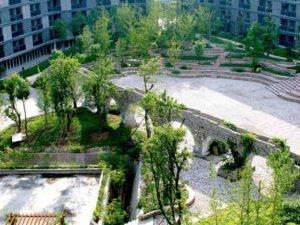 Sichuan Academy of Art, 2004-10, Hao Dapeng, Huxi Campus, Chongqing, Sichuan, China. Photo courtesy Pan Li and Shanghai University.