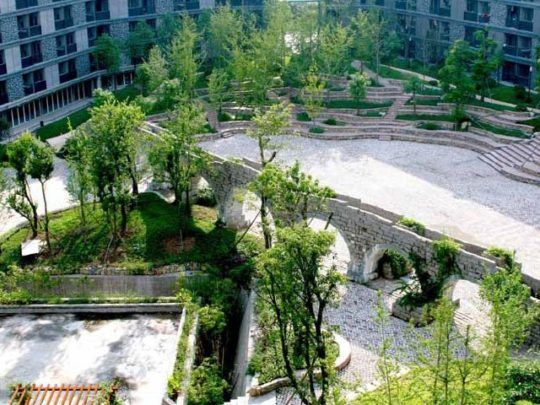 Sichuan Academy of Art, 2004-10, Hao Dapeng, Huxi Campus, Chongqing, Sichuan, China. Photo courtesy Pan Li and Shanghai University.