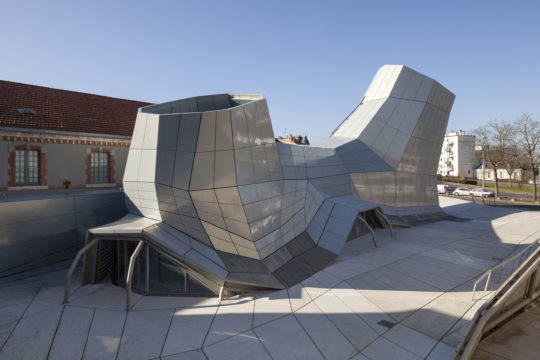 The new FRAC Centre, Orléans, architects Jakob + Macfarlane. Photo © Nicolas Borel.