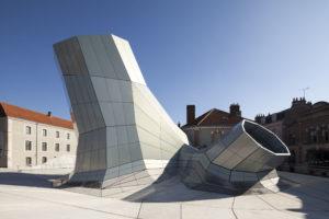 The new FRAC Centre, architects Jakob + Macfarlane, Photo © Nicolas Borel.