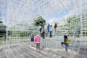 Serpentine Gallery Pavilion 2013 designed by Sou Fujimoto © Sou Fujimoto Architects. Image © 2013 Iwan Baan.