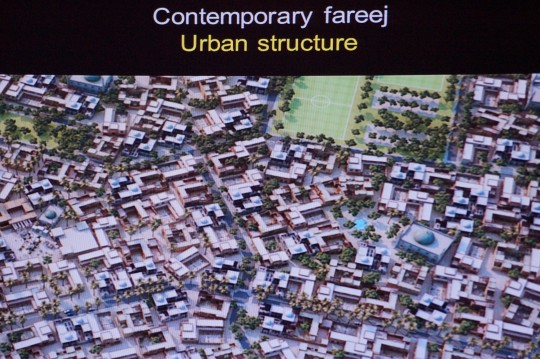 From Dr Rafael Pizarro's presentation, Sustainable Urbanism New Directions Workshop, 21 March 2016, University of Qatar, © University of Qatar.