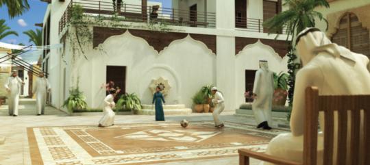 Barahat. © Rafael Pizarro & Abu Dhabi Planning Council.