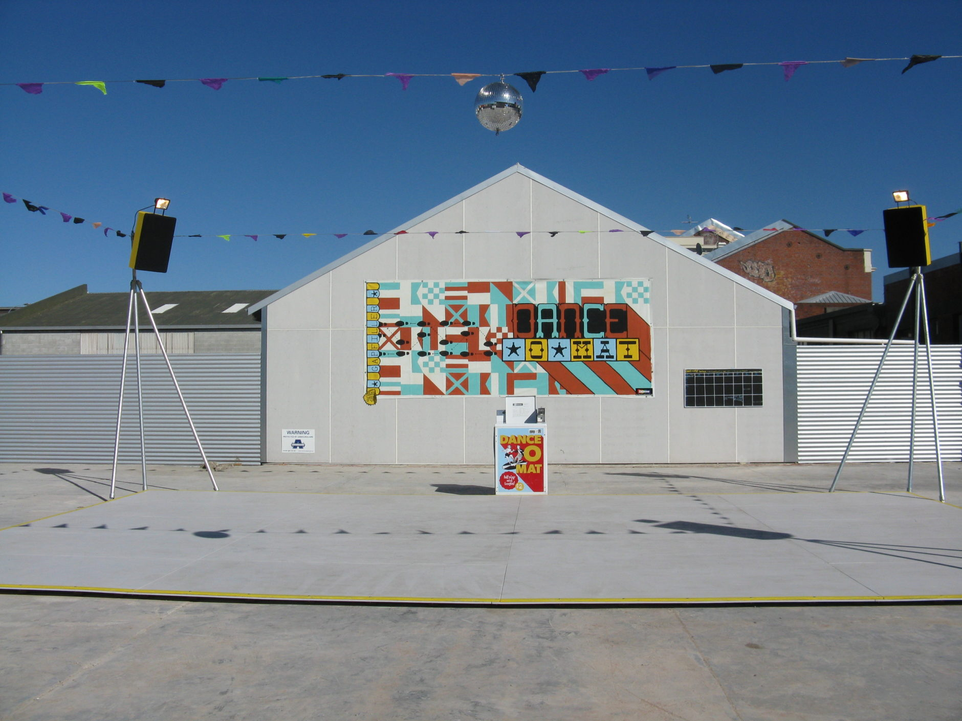 Gap Filler's Dance-O-Mat project, Christchurch, New Zealand