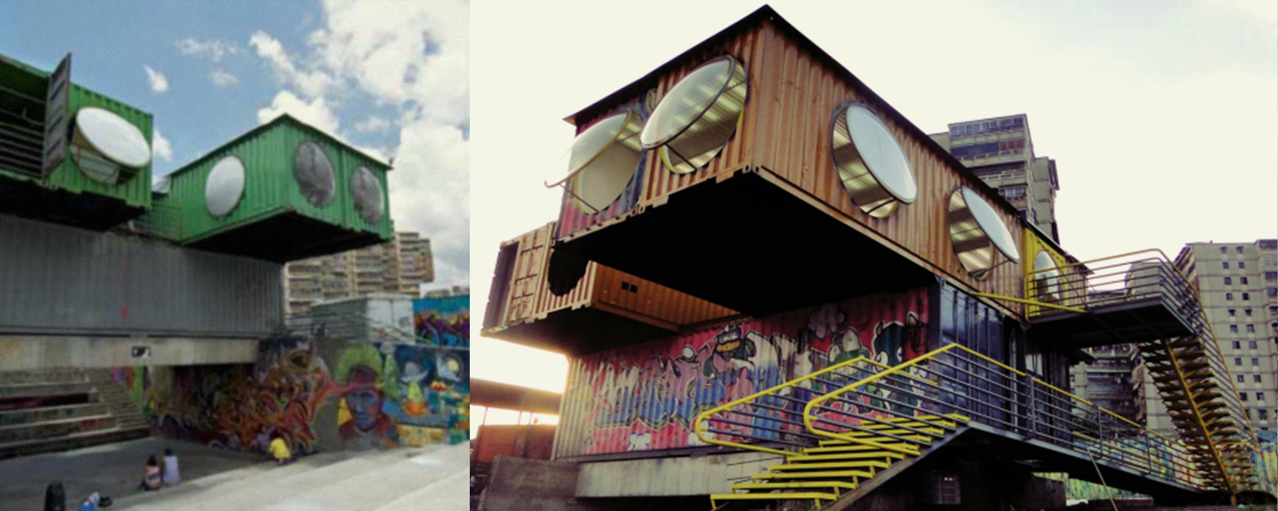 Tuna el Fuerte Cultural Park, Caracas, Venezuela, Lab.Pro.Fab. Photo: Eleanna Cadalso.