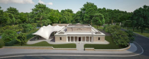 The new Serpentine Sackler Gallery, Kensington Gardens, a conversion of a 19th century building with an extension designed by Zaha Hadid Architects © Zaha Hadid Architects