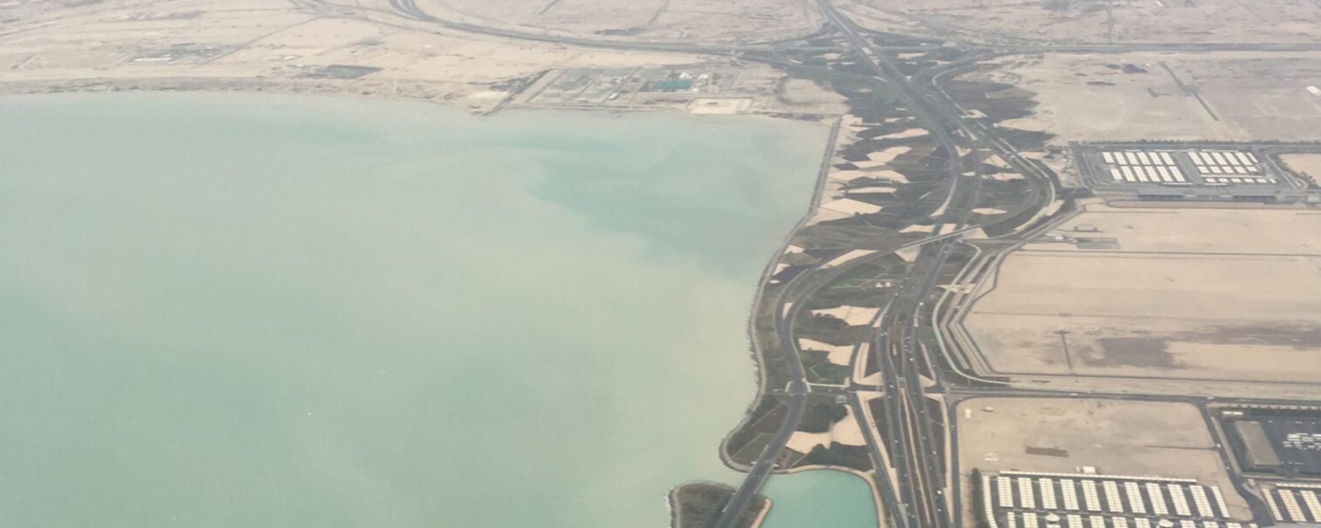Edge landscapes, Doha International Airport. Photo © Dr. Anna Grichting.