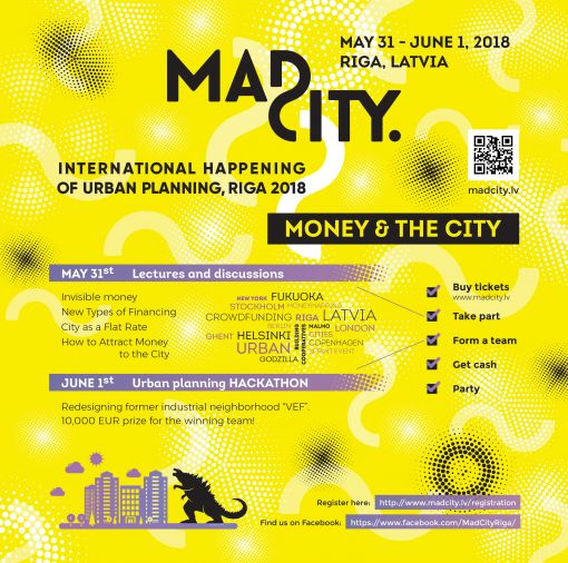 Mad City 2018, tackled a basic issue: Money and the City.