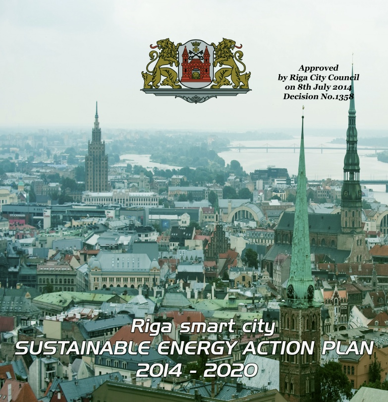 Riga smart city sustainable energy plan, 2014-20.