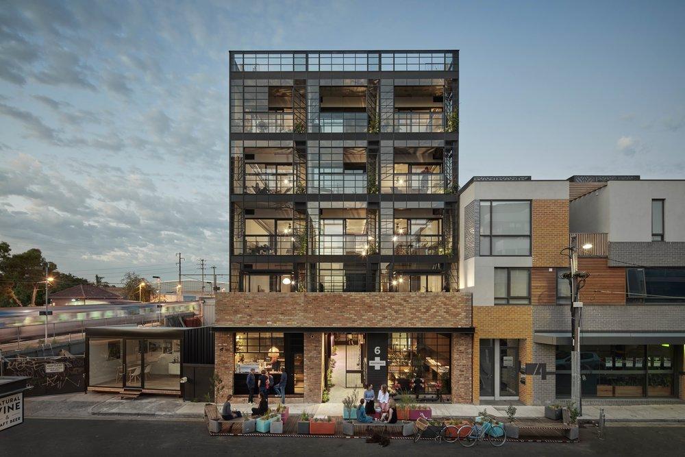 Nightingale 1, Brunswick, Melbourne. Breathe Architecture, 2017 © Peter Clarke, Eve Wilson.